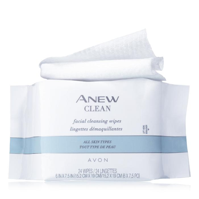 Anew Clean Facial Cleansing Wipes